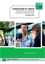 Tarifs BNP Paribas : Retrouvez les conditions et tarifs