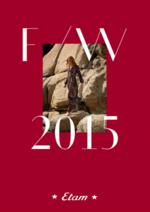 Catalogues et collections Etam Prêt-à-porter : Lookbook Prêt-à-porter automne hiver 2015