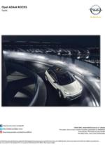 Catalogues et collections opel : Opel Adam Rocks