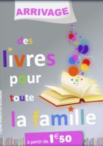 Promos et remises  : Des livres pour toute la famille à partir de 1,50€