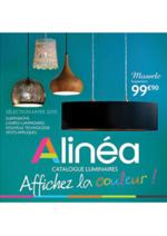 Catalogues et collections Alinéa : Catalogue Luminaires