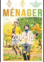 Catalogues et collections Compétence : Guide ménager Automne Hiver 2015-16