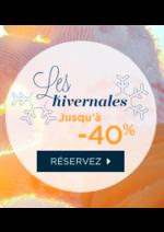 Promos et remises Novotel : Les hivernales jusqu'à -40%
