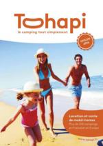 Catalogues et collections Tohapi : Tohapi : camping saison 2016