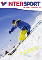 Promos et remises  : Catalogue neige 2015-2016