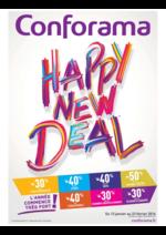 Prospectus Conforama : Happy New Deal
