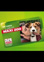 Bons Plans maxi zoo : La nouvelle carte de fidélité est à découvrir !