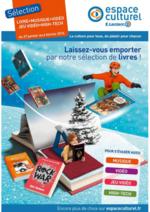 Prospectus Espace culturel E.Leclerc : Laissez-vous emporter par notre sélection de livres !