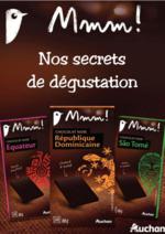 Prospectus Auchan : Nos secrets de dégustation