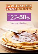 Bons Plans Monoprix : Chandeleur : le 2ème à -50%