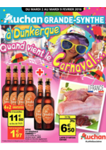 Prospectus Auchan : Quand vient le carnaval...