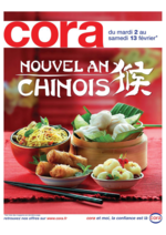 Prospectus Cora : Nouvel an chinois