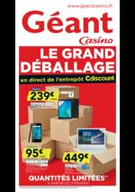 Prospectus Géant Casino : Le grand déballage II