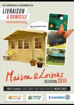 Promos et remises  : Maison & Loisirs sélection 2016