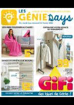 Prospectus Gifi : Les Génie Days