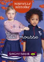 Catalogues et collections Sergent Major : Le lookbook enfant Petit mousse