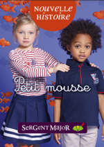 Catalogues et collections Sergent Major : Le lookbook enfant Petit mousse