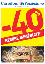 Prospectus Carrefour : Le comptoir des saveurs d'Asie : -40% de remise immédiate
