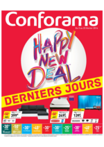 Prospectus Conforama : Happy New Deal : derniers jours