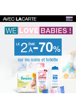 Bons Plans Monoprix : We love babies ! Le 2ème à -70% avec la carte