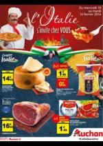 Prospectus Auchan : L'Italie s'invite chez vous