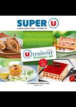Prospectus Super U : Traiteur printemps été