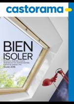 Catalogues et collections Castorama : Guide 2016 Bien isoler