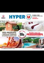 Prospectus Hyper U : Vos produits livraison comprise