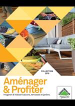 Promos et remises  : Le Jardin : Aménager & Profiter collection 2016