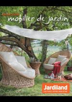 Catalogues et collections Jardiland : La collection mobilier de jardin 2016
