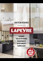 Catalogues et collections Lapeyre : Le catalogue Intérieurs 2016