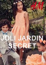 Catalogues et collections H&M : Le lookbook enfant Joli jardin secret