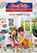 Catalogues et collections JouéClub : Le catalogue printemps été 2016