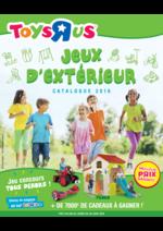 Catalogues et collections Toys R Us : Jeux d'extérieur Catalogue 2016