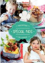 Prospectus Auchan : Recettes de cuisine special kids
