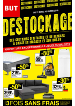 Prospectus BUT : Destockage