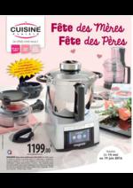 Prospectus Cuisine plaisir : Fête des mères Fête des pères