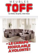 Promos et remises  : Le canapé modulable à volonté !