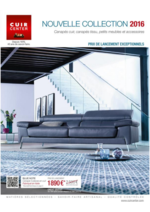 Promos et remises  : Le catalogue de la nouvelle collection 2016