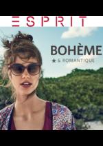Catalogues et collections Esprit : Le lookbook bohème & romantique