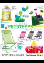 Prospectus Gifi : C'est le printemps, profitez-en ...