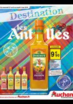 Prospectus Auchan : Destination les Antilles
