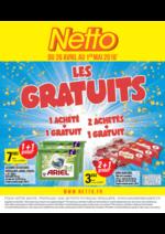 Prospectus Netto : Les Gratuits