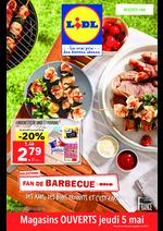 Prospectus Lidl : Fan de barbecue