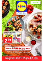 Prospectus Lidl : Fan de barbecue