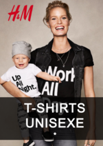 Catalogues et collections H&M : Lookbook T-shirts unisexe