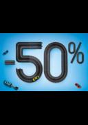 Promos et remises Euromaster Paris : -50% sur le 2ème amortisseur
