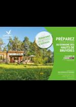 Promos et remises  : Préparez votre séjour au domaine des Hauts de Bruyères