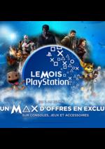 Promos et remises Micromania :  Le mois PlayStation