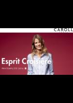 Catalogues et collections Caroll : Lookbook Esprit Croisière Printemps-Été 2016